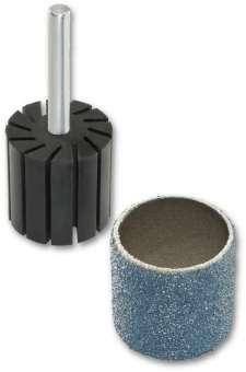 50x SIA Schleifband Schleifbänder Schleifhülse Korn 36 | Ø 19 mm | 0011.1377