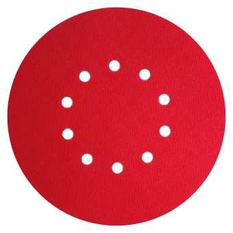 Klingspor CS 396 Y Klettbelag Adapterscheibe für Schleifscheiben / Kletthaftscheibe | selbstklebend | Ø 225 mm | GLS 52 | 349073