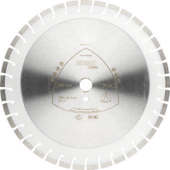 Klingspor DT 600 U Diamanttrennscheiben | 400 x 3,6 x 20 mm 43 Segmente 24 x 3,6 x 10 mm, Kurzverzahnung | 347484
