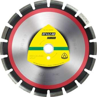 Klingspor DT 612 AB Diamanttrennscheiben | 400 x 3,6 x 20 mm 24 Segmente 40 x 3,6 x 10 mm, Weitverzahnt | 349225