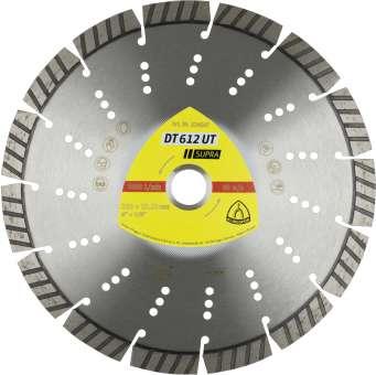 Klingspor DT 612 UT Diamanttrennscheiben | 150 x 2,4 x 22,23 mm 11 Segmente 33 x 2,4 x 12 mm, Standard Turbo | 345388