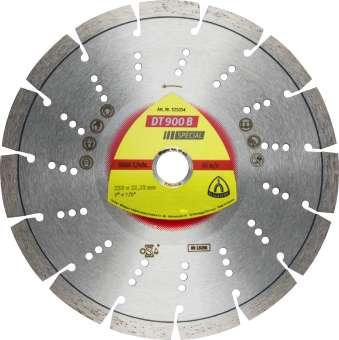 Klingspor DT 900 B Diamanttrennscheiben | 400 x 3,6 x 20 mm 26 Segmente 40 x 3,6 x 12 mm, Standard Turbo | 347489