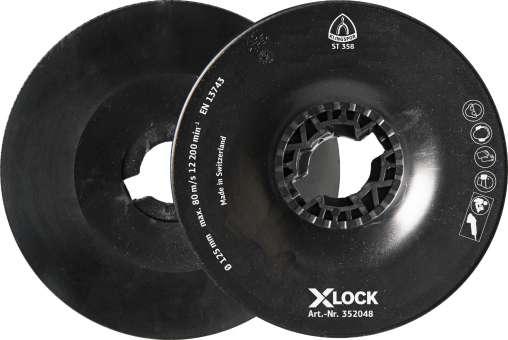 Klingspor ST 358 FI-Stützteller, 115 mm X-LOCK | 352049