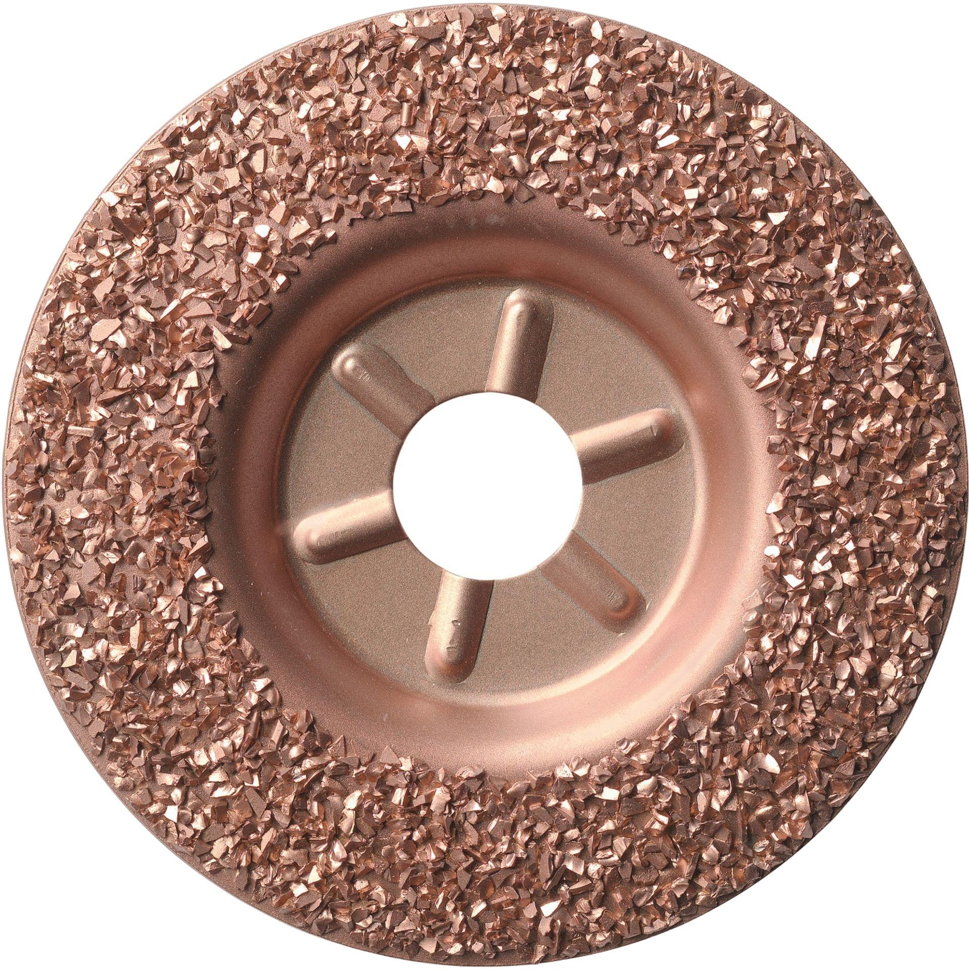 LUKAS Hartmetall-Granulat-Teller HGWT Ø115 mm | schräg