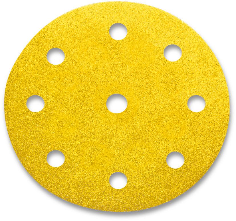 100x SIA Klett Schleifscheibe Schleifscheiben siarexx 125 mm Korn 100 9-Loch | 4102.2332.0100