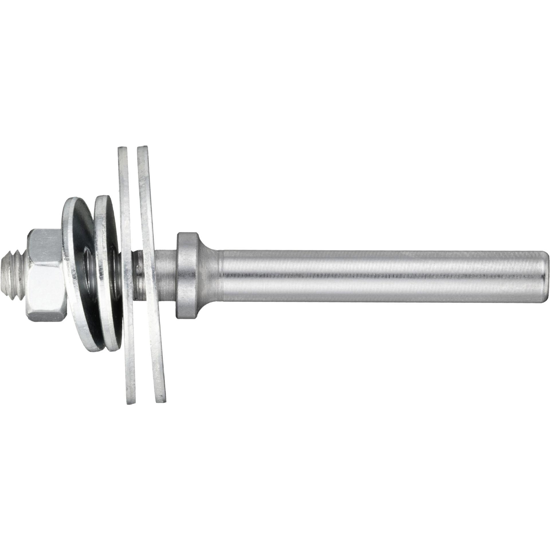 5x LUKAS Werkzeugaufnahme ASB für Filzpolierscheiben M6 Schaft 6 mm