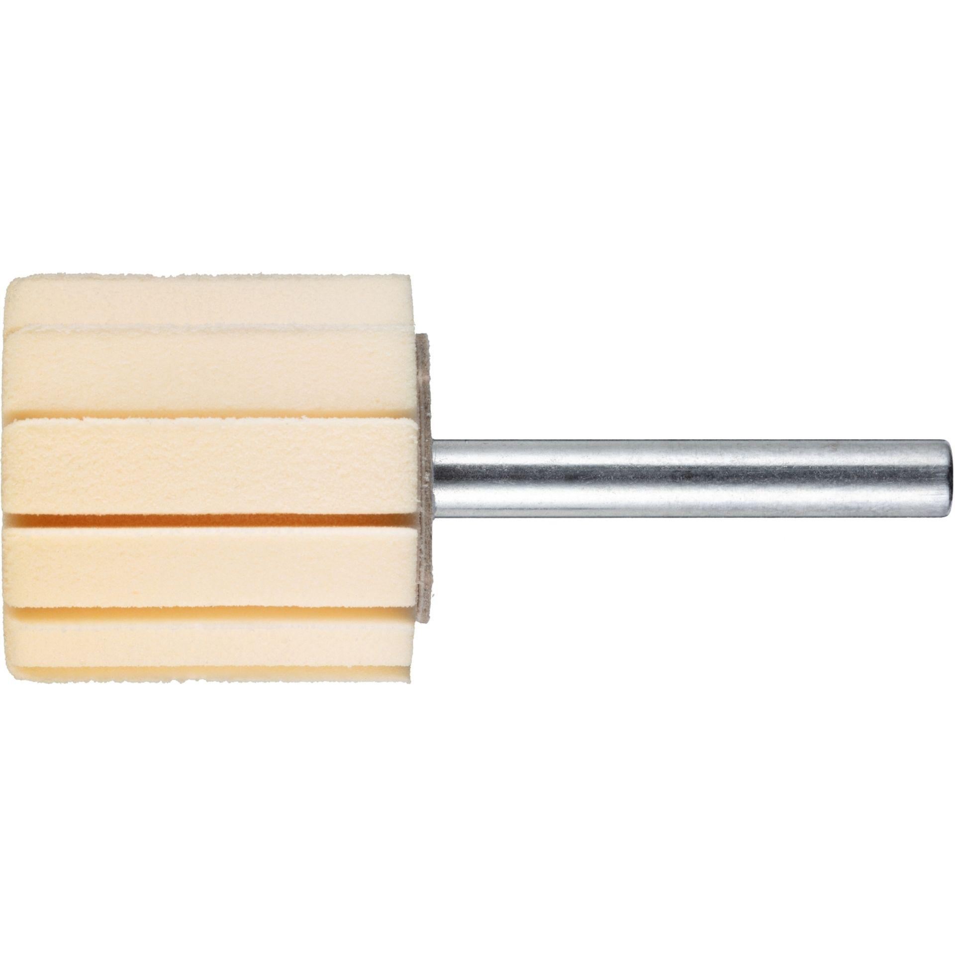 2x LUKAS Werkzeugaufnahme STZY für Schleifhülsen 100x40 mm Schaft 8 mm