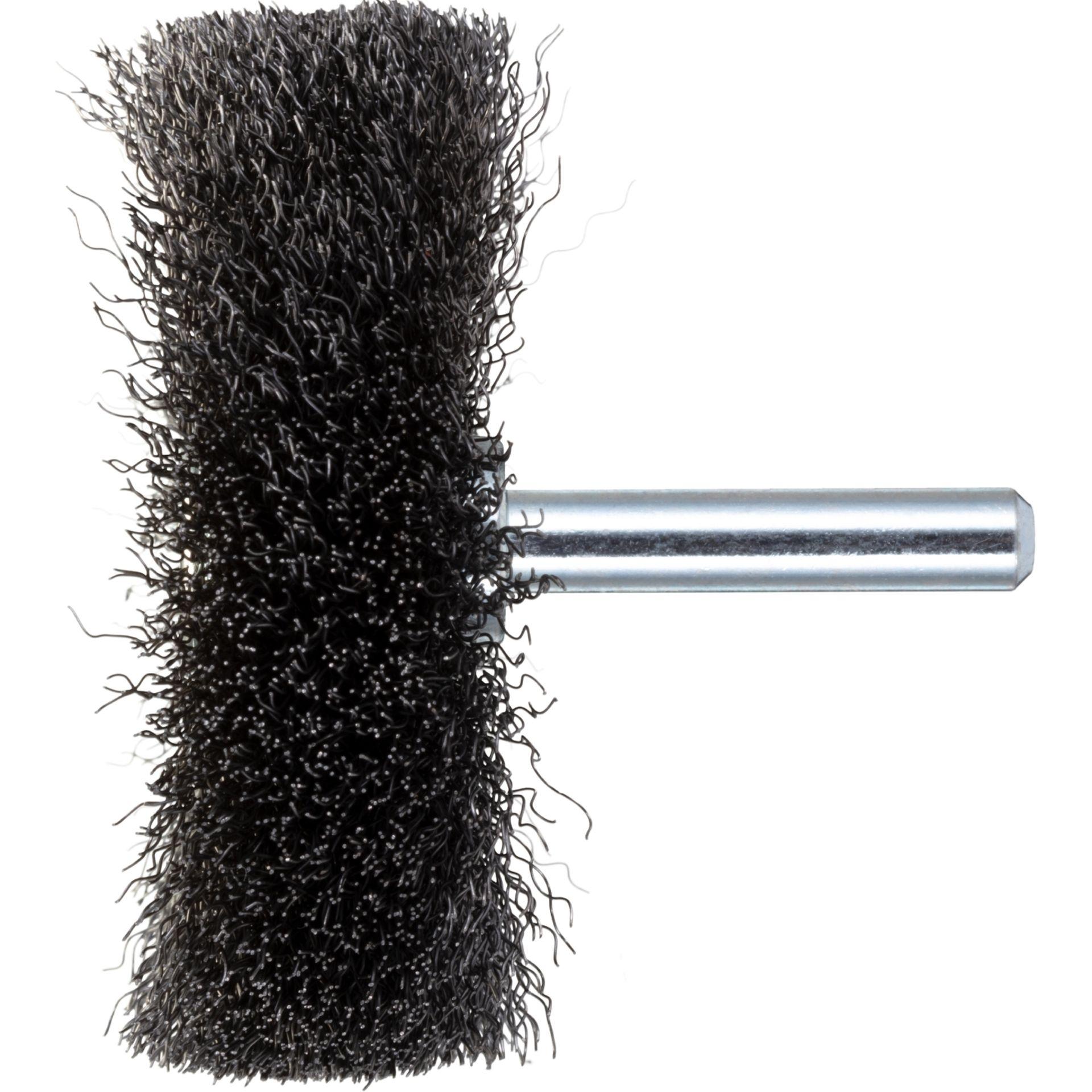 10x LUKAS Drahtbürste BSSW für Stahl 50x10 mm für Bohrmaschinen gewellt