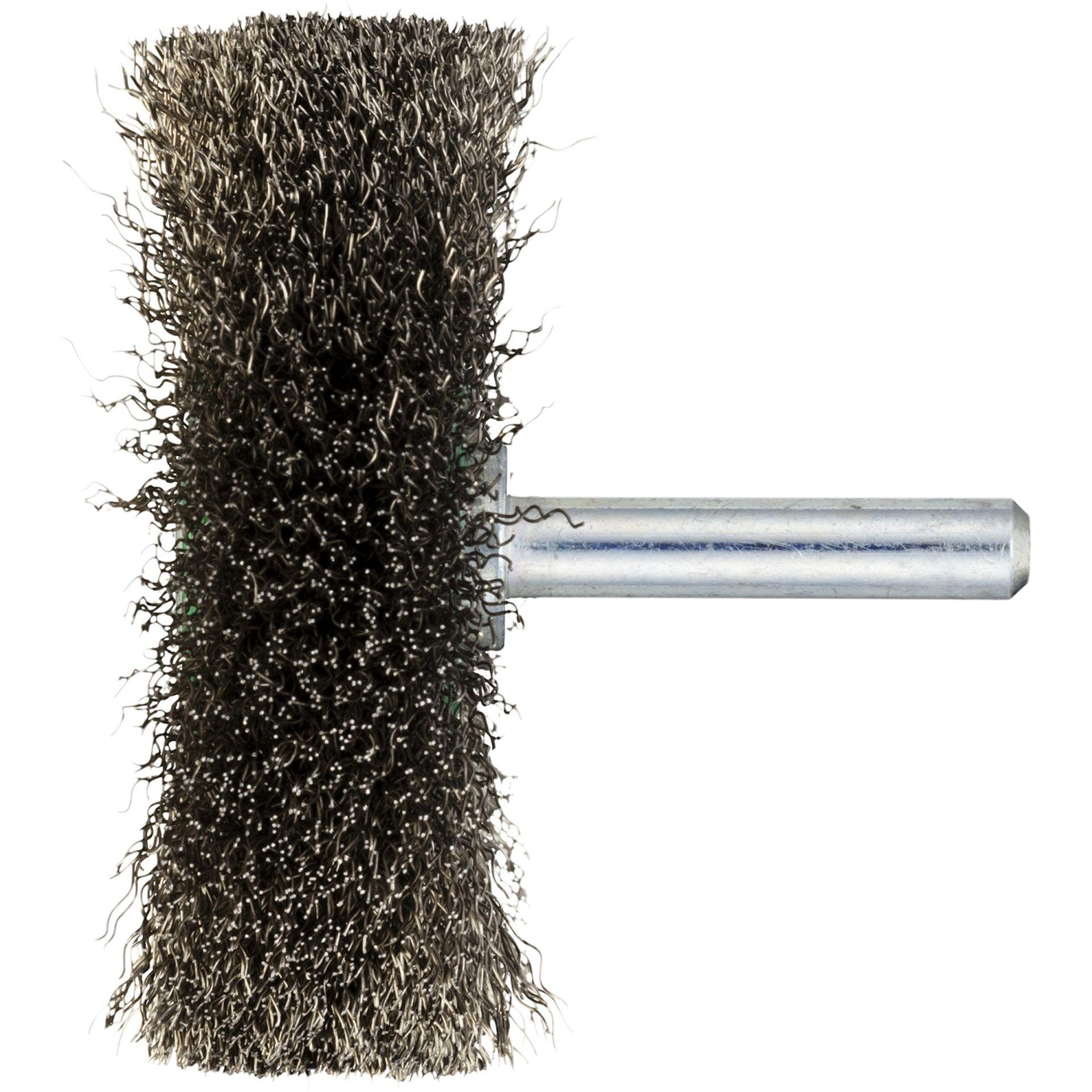 10x LUKAS Drahtbürste BSSW für Stahl 40x10 mm für Bohrmaschinen gewellt