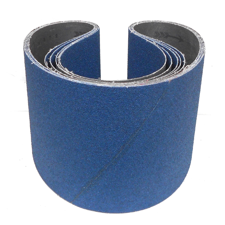 6-teiliges Premium Set Awuko Schleifband ZT62X / ZU62SY | 150 x 1220 mm |P40-120