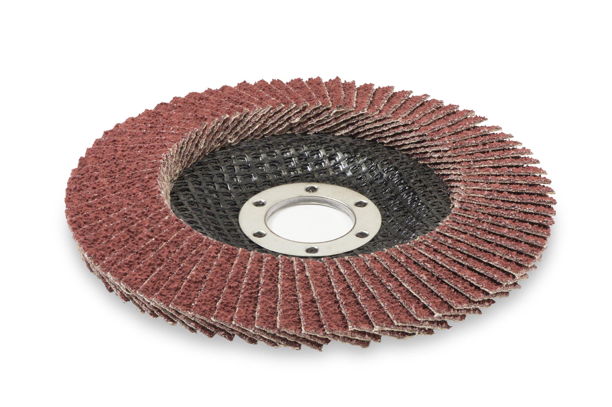 10 x STARCKE Fächerscheibe Schleifscheiben konisch Keramik 115 mm Korn 40 | 190052