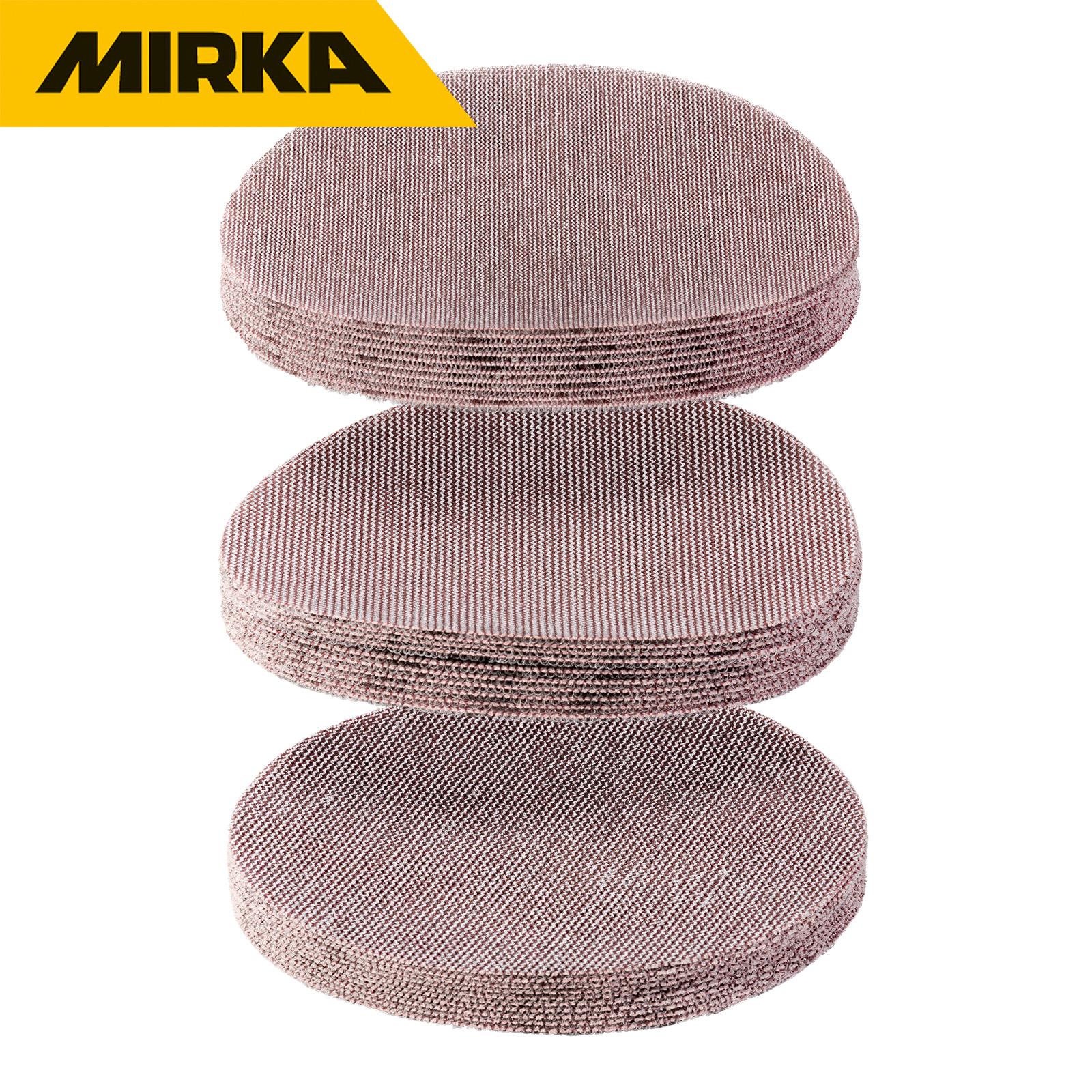 30er-Premium-Set Mirka Schleifscheibe Abranet   Ø 150 mm    für den Grobschliff