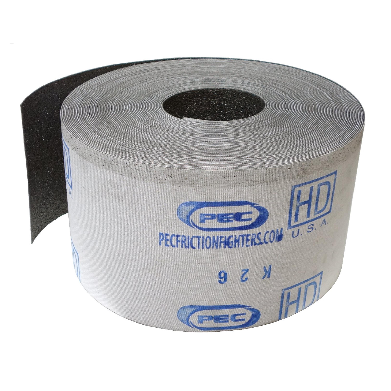PEC Heavy Duty HD | Graphit-Gleitgewebe | Graphitbelag | 150 x 500 mm
