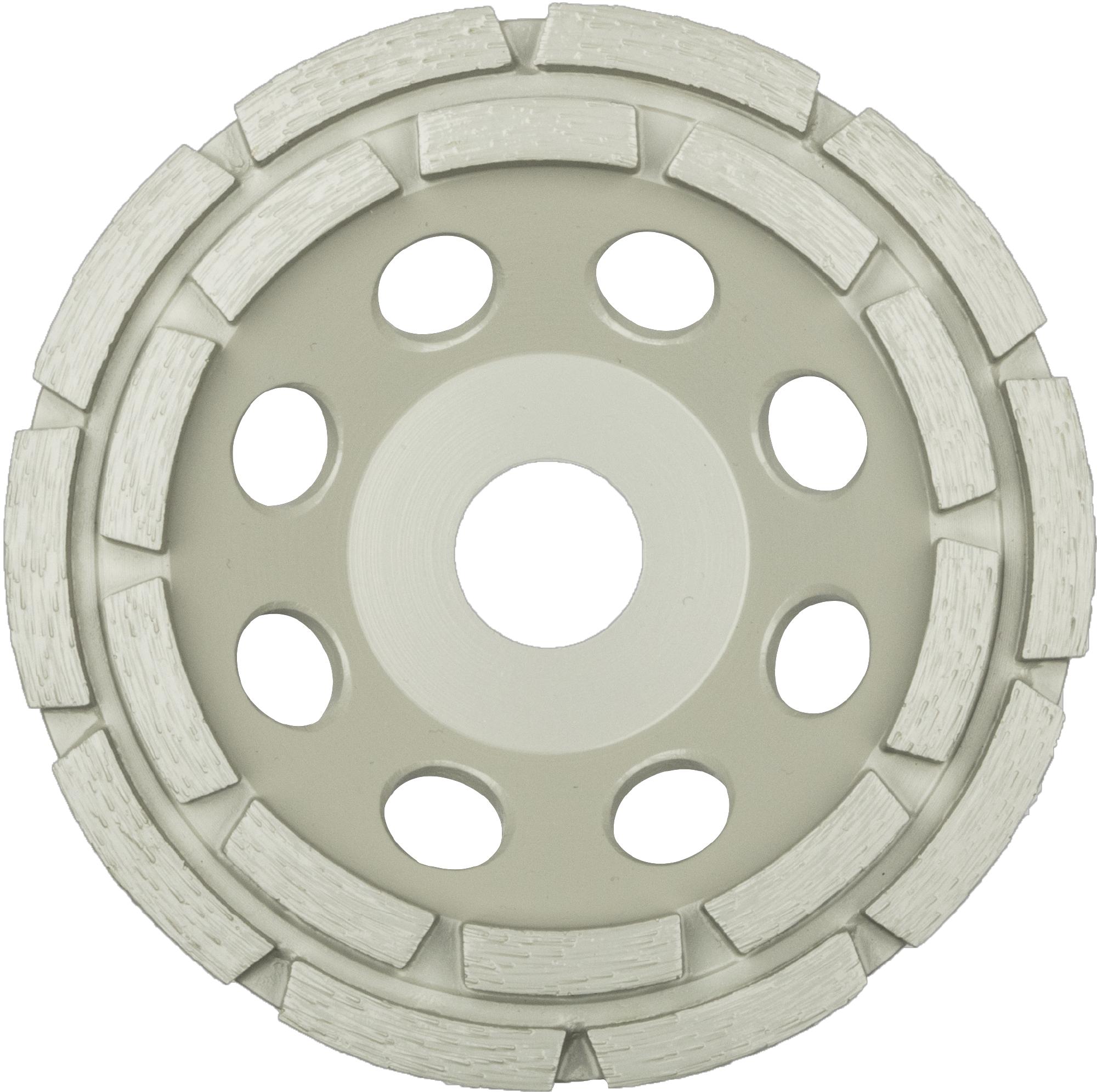 Klingspor DS 300 B Diamantschleifteller, 100 x 7 x 22,23 mm 14 Segmente 7 x 5,5 mm, 2-Reihig | 330622