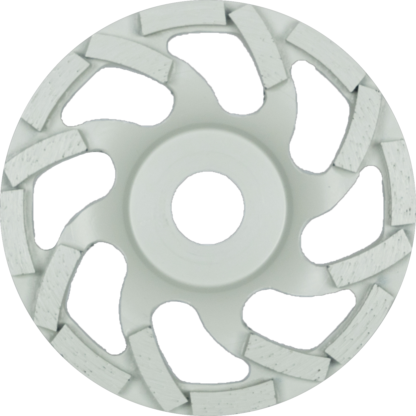 Klingspor DS 600 S Diamantschleifteller, 100 x 7,2 x 22,23 mm 16 Segmente 7,2 x 5,5 mm, Spezialgeometrie | 331022