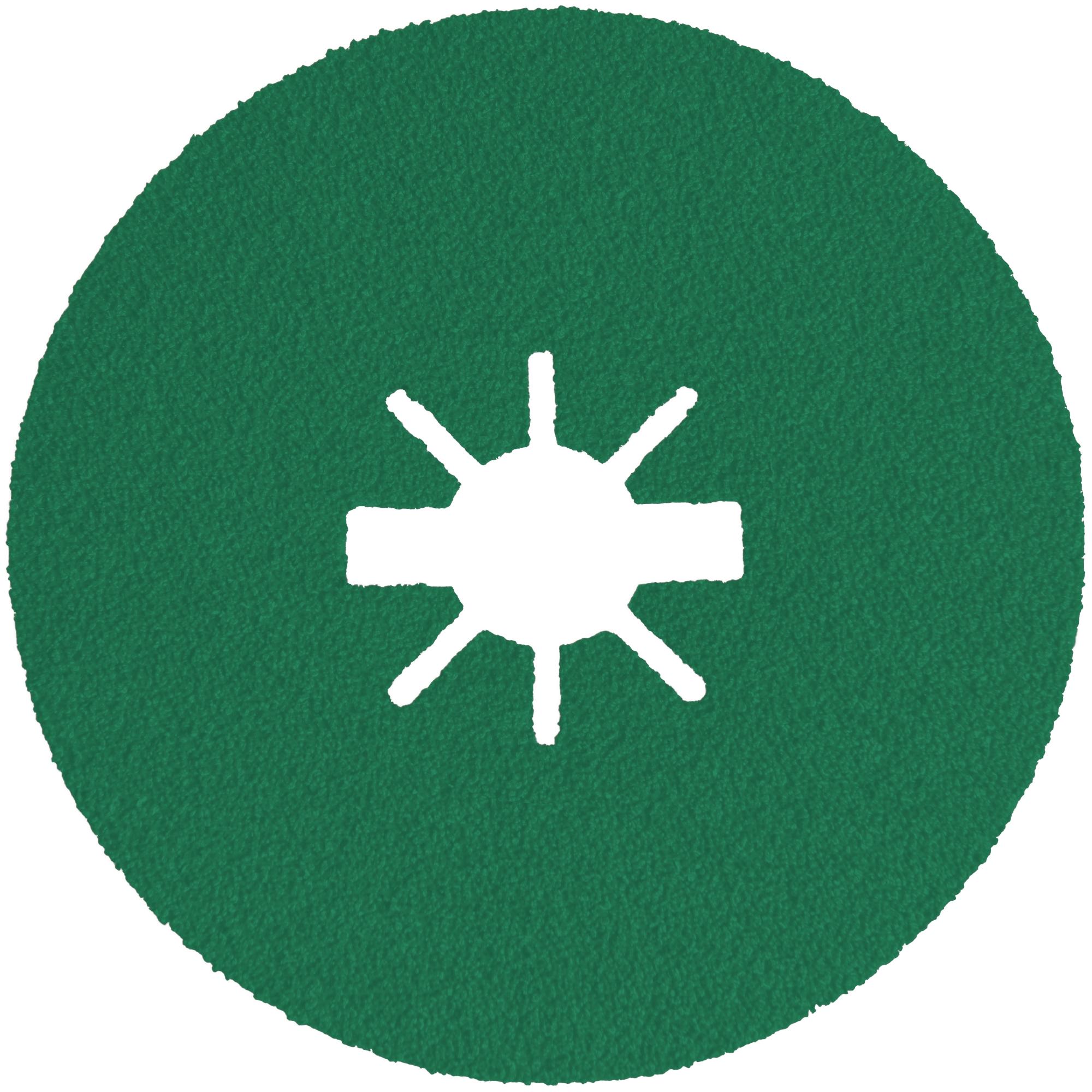 25 x Klingspor FS 966 Fiberscheiben | Multibindung Keramik, 125 x 22 mm | Korn 40 X-LOCK