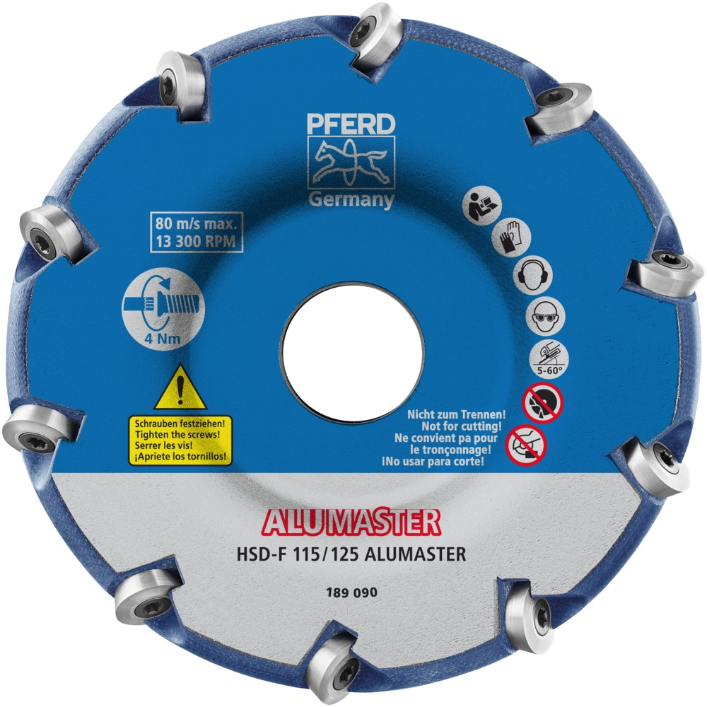 Pferd High Speed Disc ALUMASTER HSD-F 115/125 ALUMASTER | 22000009