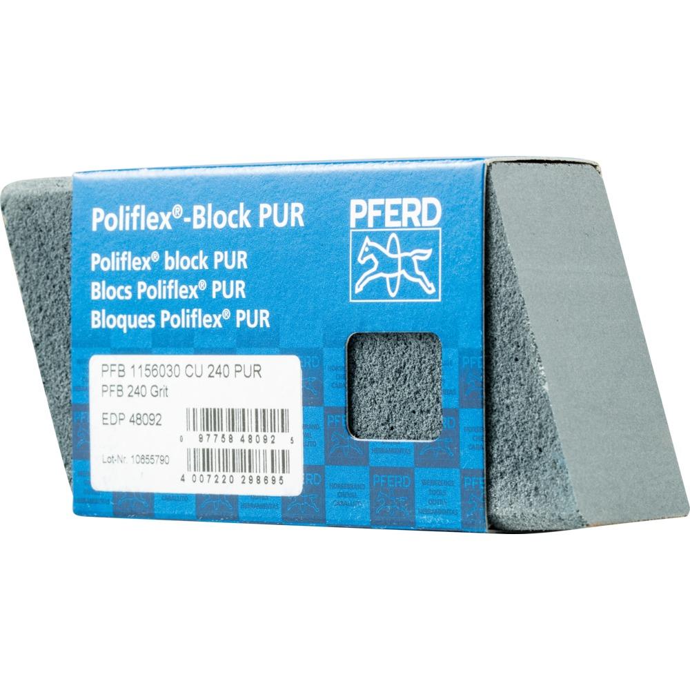 5 x PFERD Poliflex-Block PFB 1156030 CU 240 PUR | 41020240
