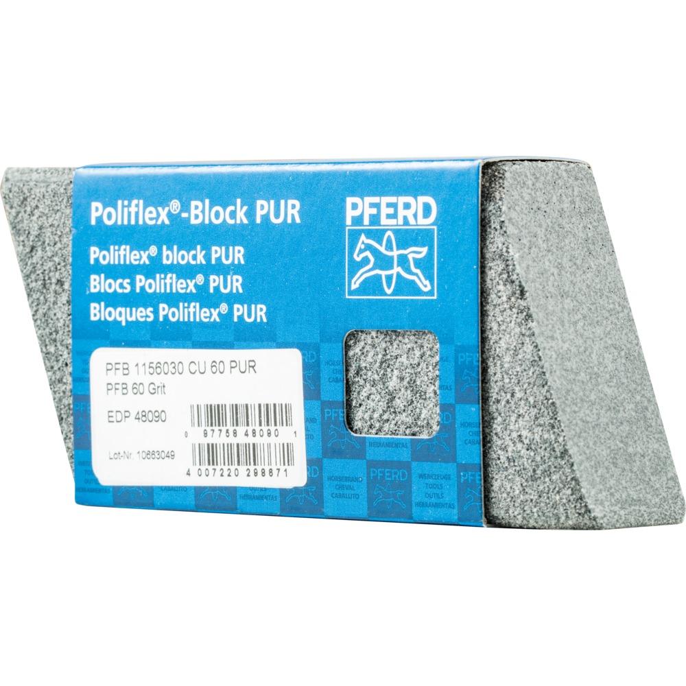 5 x PFERD Poliflex-Block PFB 1156030 CU 60 PUR | 41020060