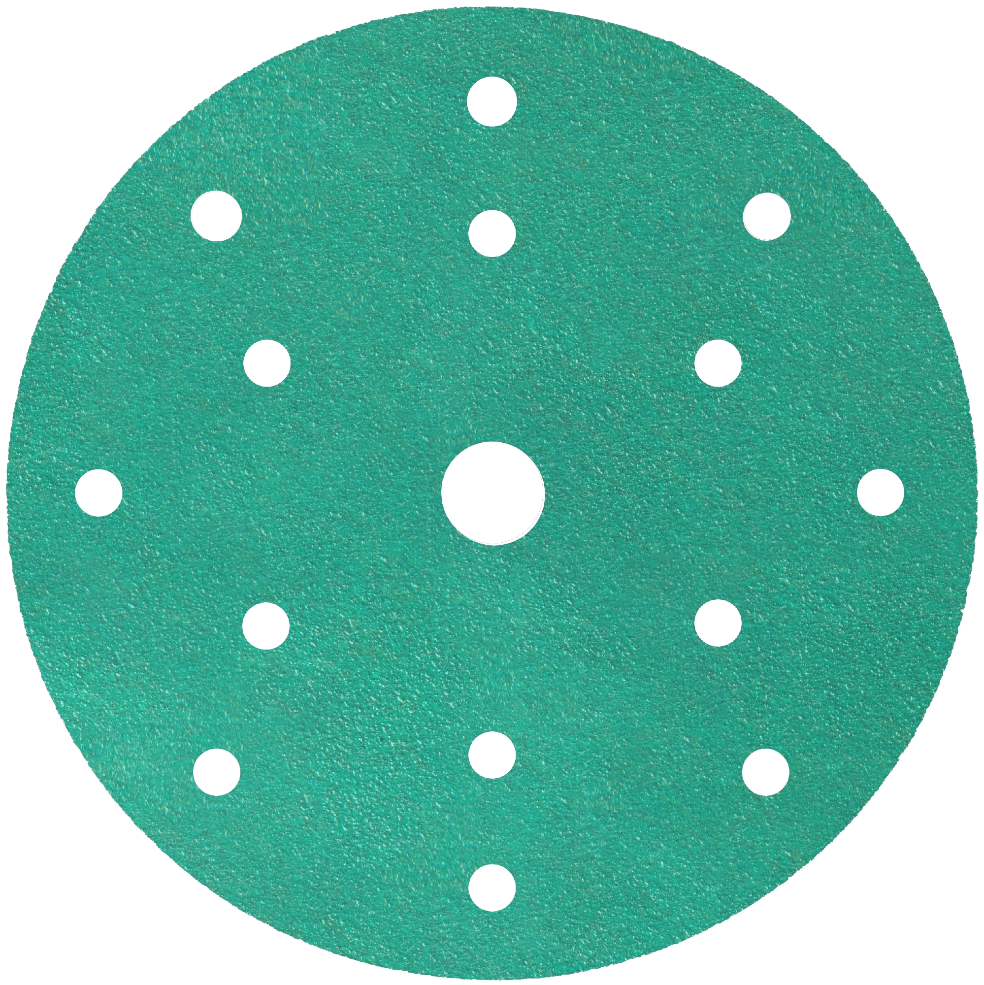 100 x Klingspor FP 77 K Schleifscheiben | kletthaftend | wirkstoffbeschichtet | 150 mm | Korn 2000 | Lochform GLS47 | 353130