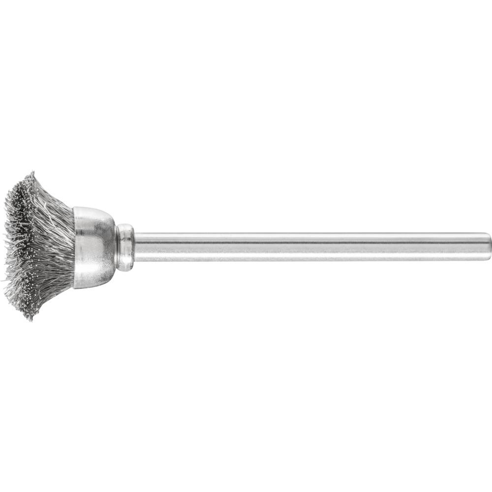 10 x PFERD Topfbürste mit Schaft, ungezopft TBU 1503/3 INOX 0,10   43209252