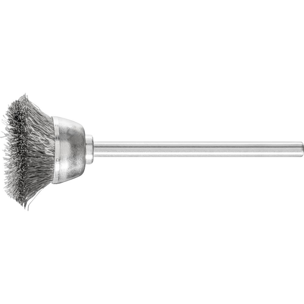 10 x PFERD Topfbürste mit Schaft, ungezopft TBU 1803/2,34 INOX 0,10   43209402